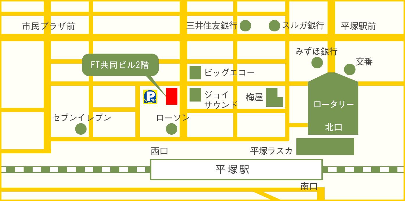 アクセスマップ 地図